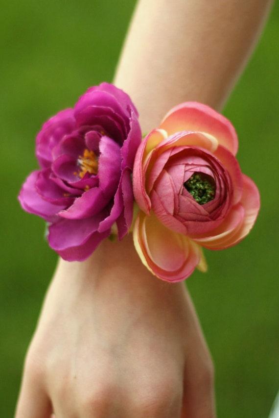 Индивидуальные Corsage цветов для матери невесты Матери бабушки в законе