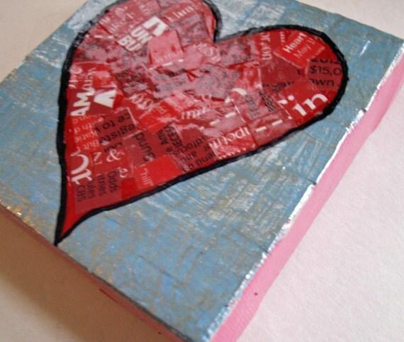Le Сердце-Смешанные Canvas Media