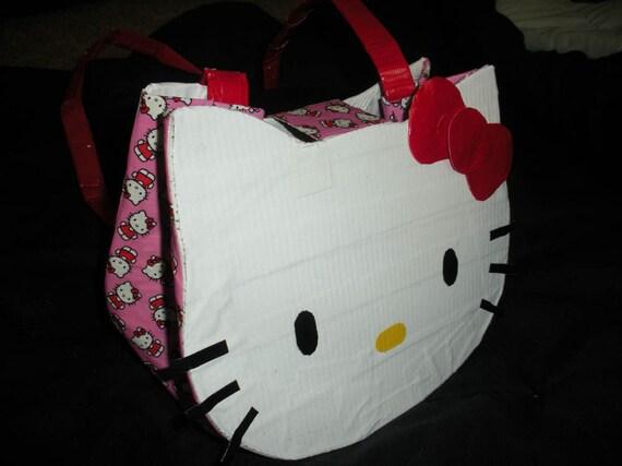 Hello Kitty Purse Duct tape