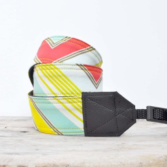 Camera Strap for SLR or DSLR - Nikon, Canon, Sony, Olympus, Kodak - 28 inch
