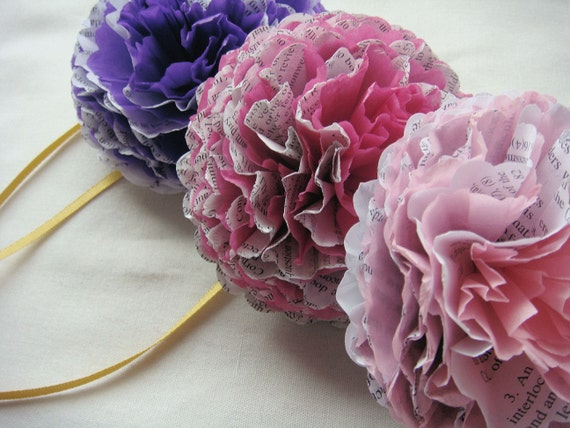 eco friendly paper flowers by missIsa on etsy
