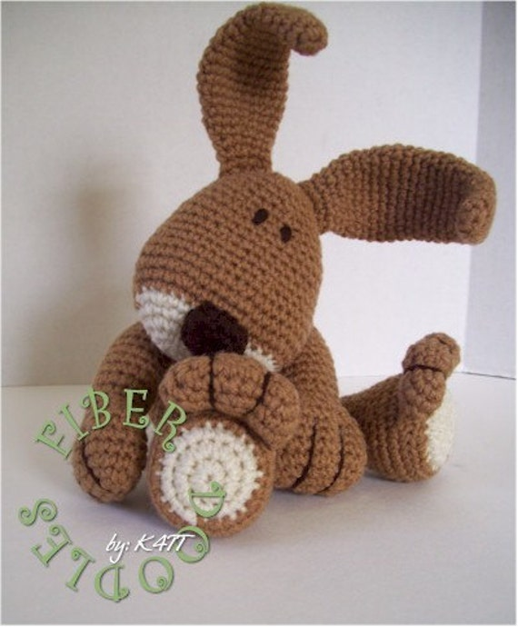 CROCHET PATTERN - KISS Series - Bunny