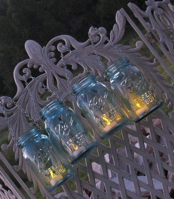 Vintage Ball Mason Jar Lantern Perfect for Rustic Weddings and Events