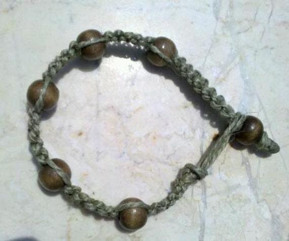 Earth Friendly Hemp Bracelet