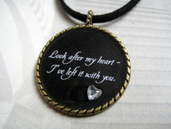 Look After My Heart Necklace
