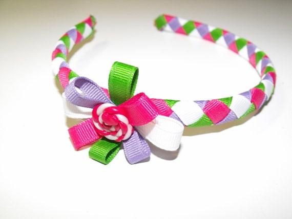 Ribbon Headband - spring time