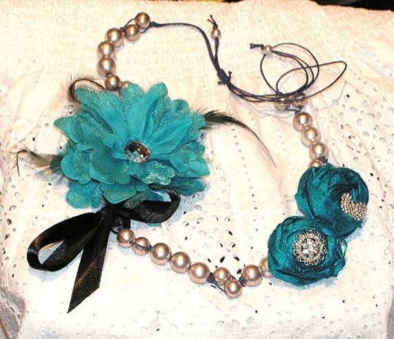 "Fun & Fabulous ""Teal is the new Black accessory"""