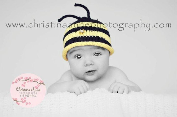 Bumblebee Hat and Booties