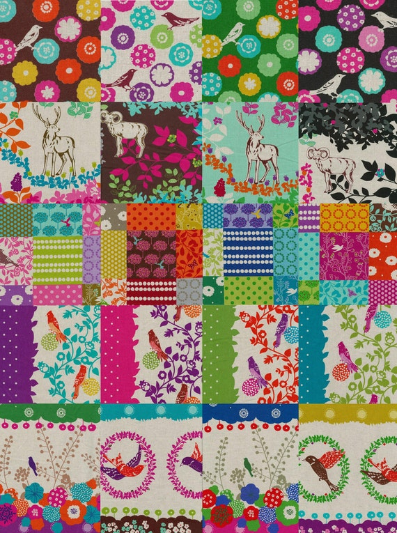 Pick any 4 Fat Quarters from the Fall 2010 Echino Collection