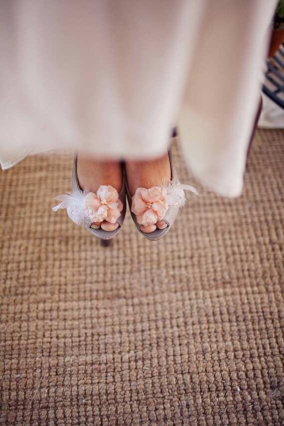 Cherry blossom shoe clips- style 202