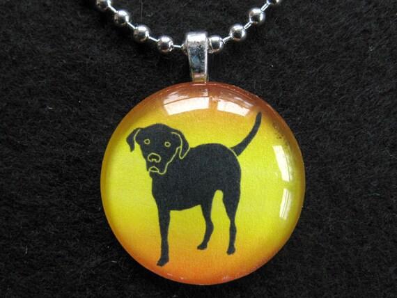 Tripawds Etsy Glass Pendant Necklace