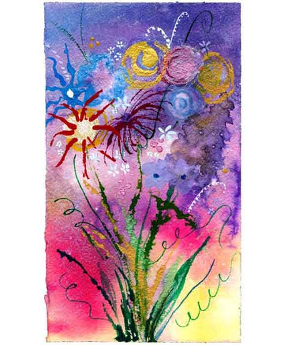 Print Stephanie's Bouquet Fine Art Limited Editiion Giclee