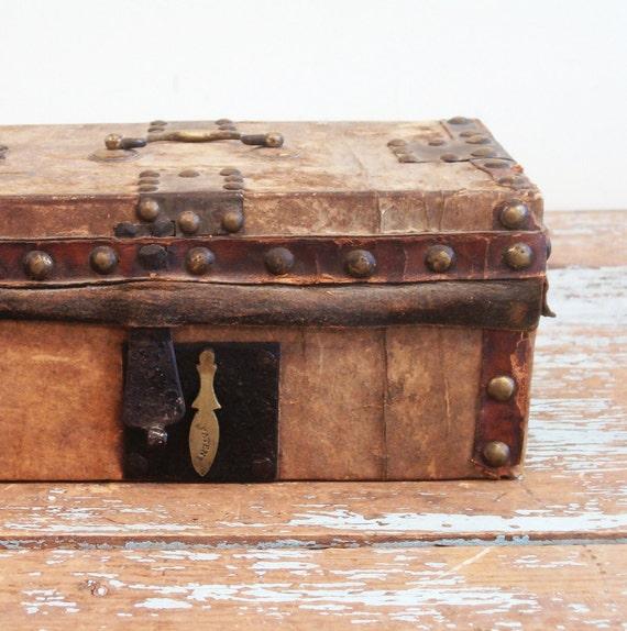 circa 1845 Hudson Valley NY document box