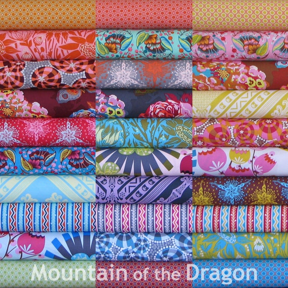 Anna Maria Horner Fabric - Loulouthi Collection - 30 Half Yard Bundle
