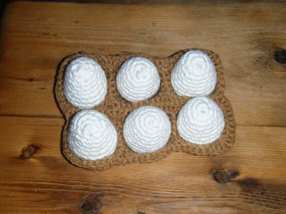 Crochet Eggs-Set of 6
