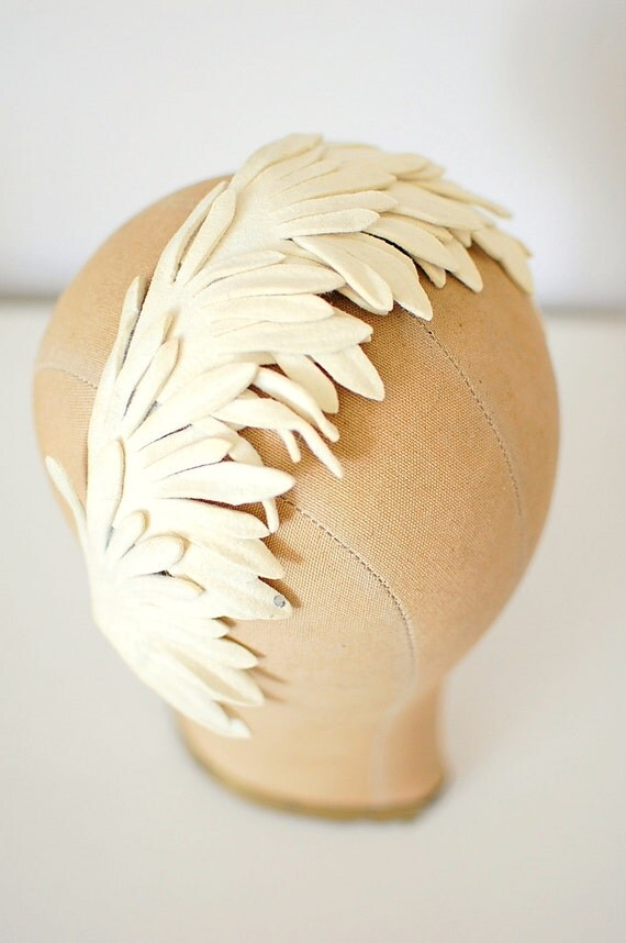 Vintage 1950s Deep In My Heart Fascinator (50s)
