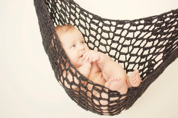 Baby Hammock Photo Prop- great for babies up to six months and for twins