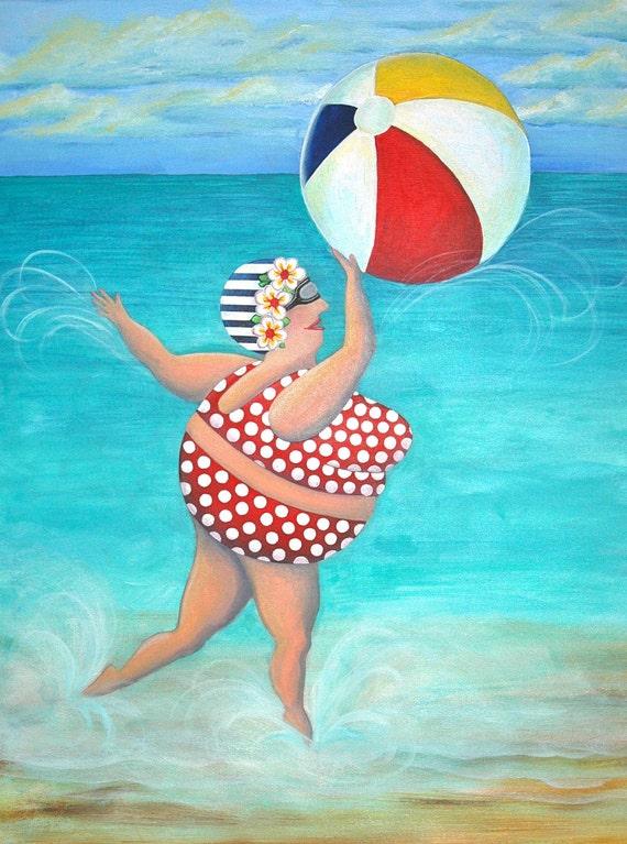 Sylvia at the Beach