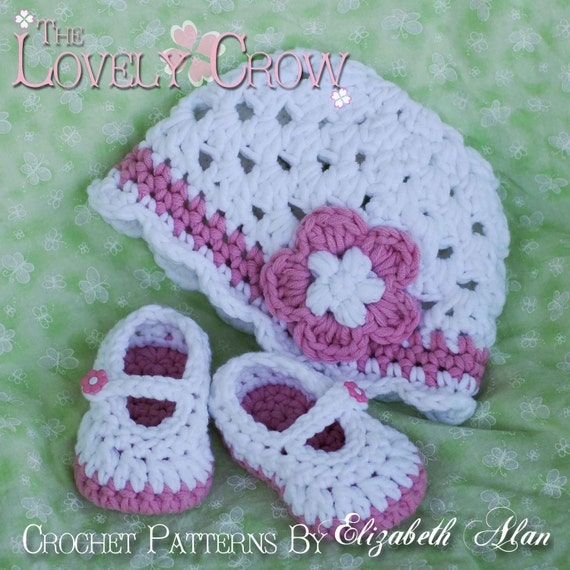 PDF Crochet Pattern for Bulky Baby Button Maryjanes by ...