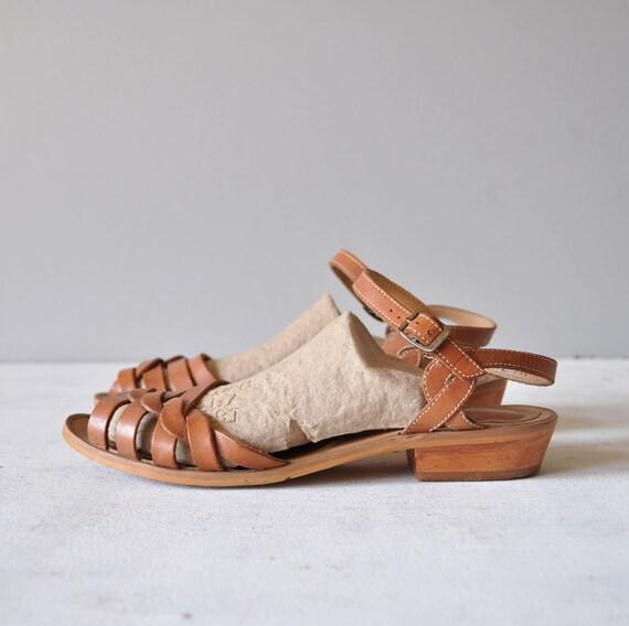 Vintage Leather Sandals 98