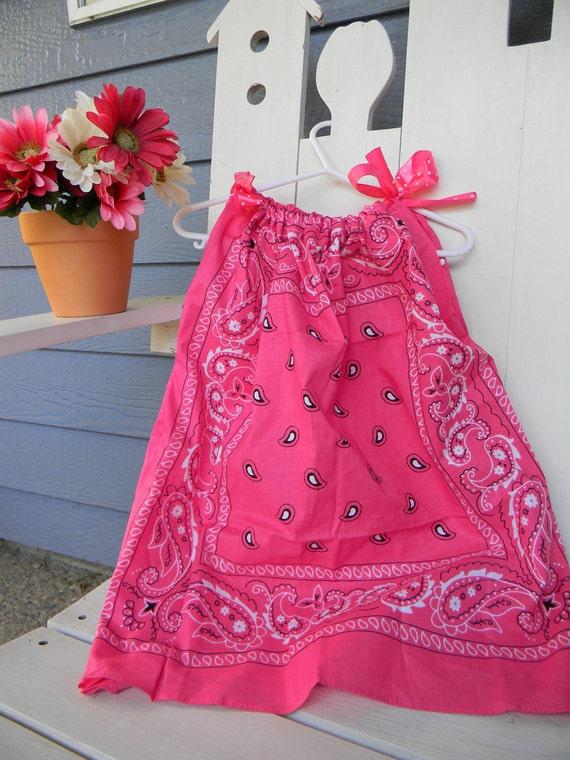 Handkerchief Dress Pretty in Pink SALE