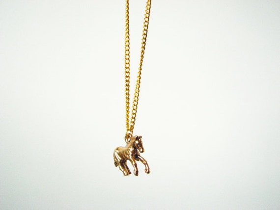 Wild Horse-necklace