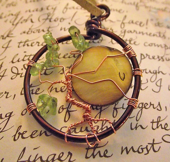 Full Moon Tree of LIfe Pendant