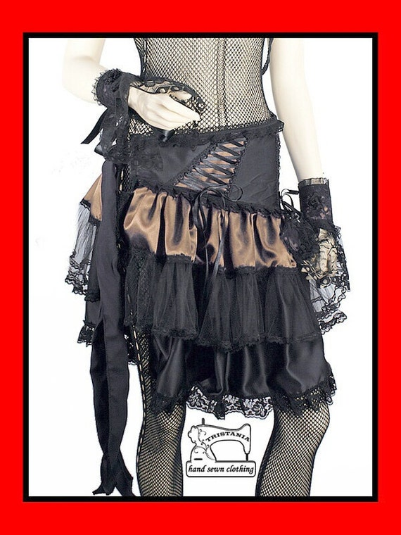 gothic skirt clothing goth harajuku japan queen of darkness lolita hell bunny necessary sinister evil aristocrat victorian corset style 0130