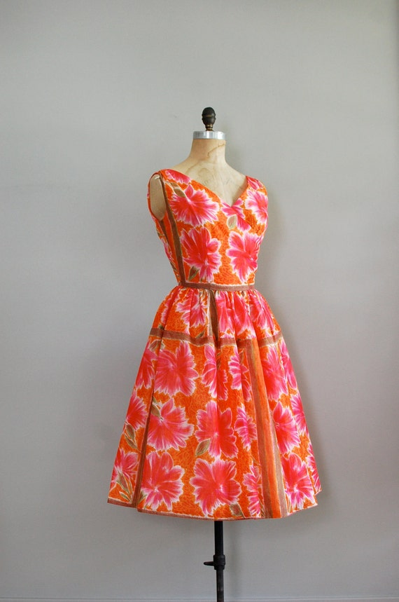 vintage 1950s Pleased as Punch dress
