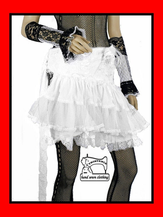 wedding gothic skirt clothing goth harajuku japan queen of darkness lolita hell bunny necessary sinister evil victorian corset style 0230
