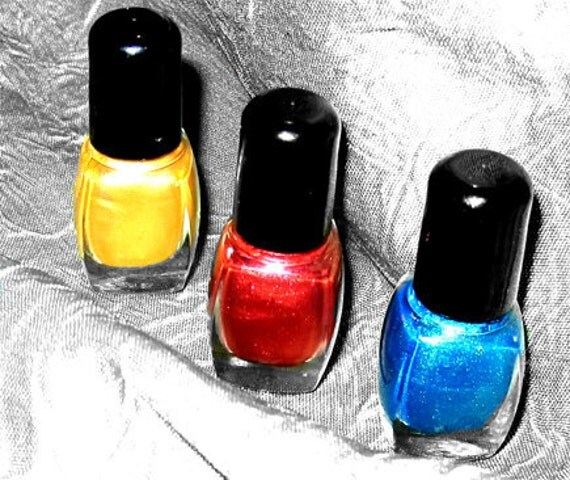 2 Bottles Of Nail Polish - You Pick The Colors & Free Bottle Of Top Coat