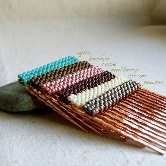 Color Block Hair Comb - You choose your colour