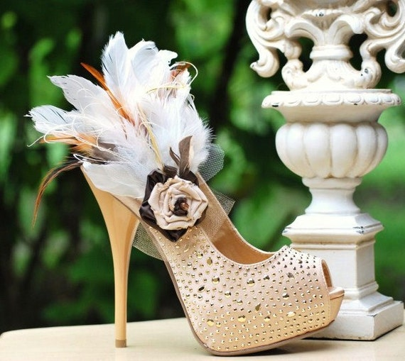 Shoe Clips Set Tan Beige Ivory Night Party Sexy Sophisticated Elegant Summer Autumn Fall Trend Statement Nonteamchallenge 43 Sofisticata
