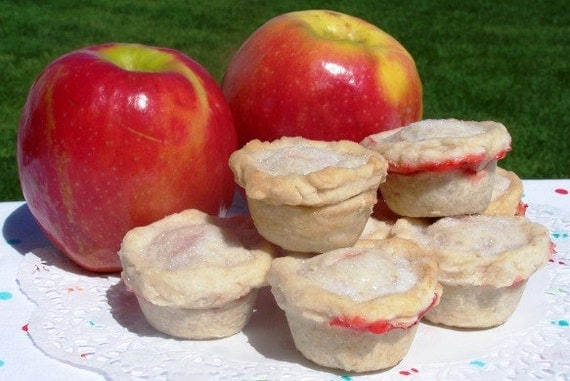 Mini Pies - Two Bite Pies - One Dozen - Perfect for Wedding or Party Favors