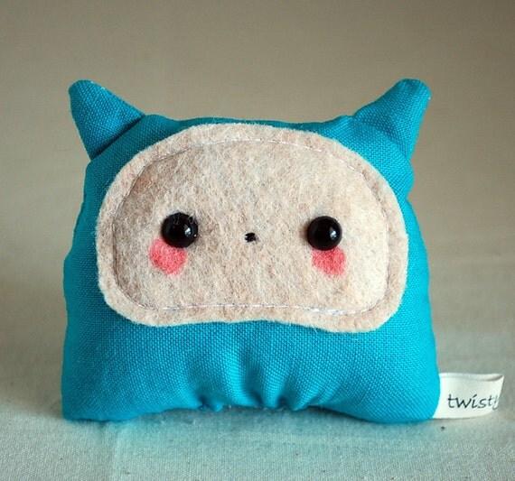 Blue Baby Monster Plush