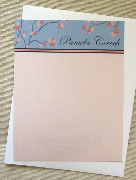 Personalized Stationary - Sakura