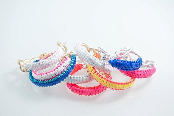 popsicle series bfrend bracelet- WHITE PINK