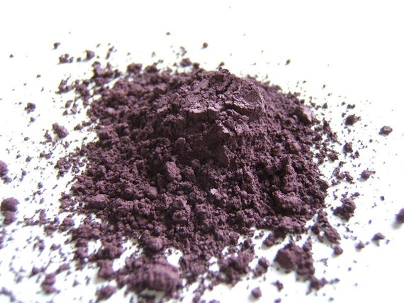 Blackberry - Vegan Eye Color Sample - Eyeshadow/Eye Liner - Hand Crafted and All Natural - 0041