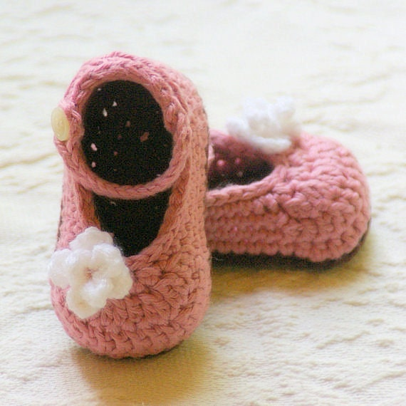 Crochet Baby Mary Jane Pattern : Crochet Patterns For Baby Booties Mary Janes images