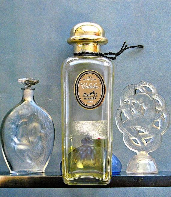Hermes Caleche Vintage Bottle in Original Box