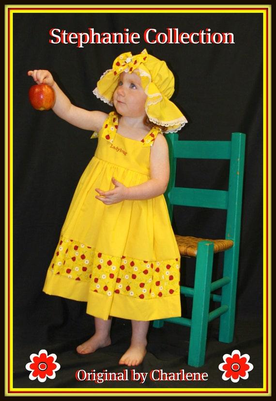 استفانی مجموعه بوتیک OOAK زرد آشنایی لباس فانتزی تنظیم