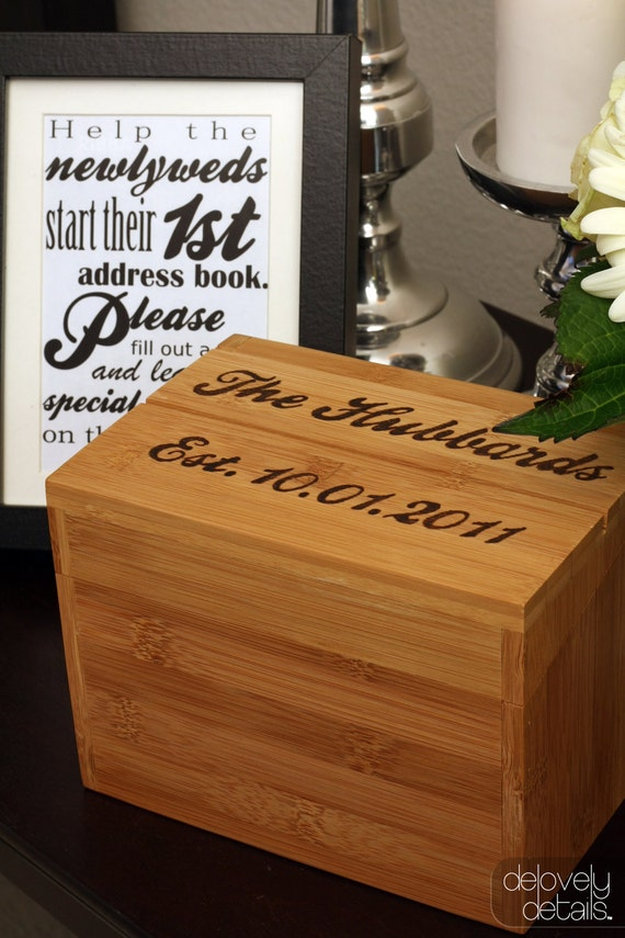 Guest Address Box
