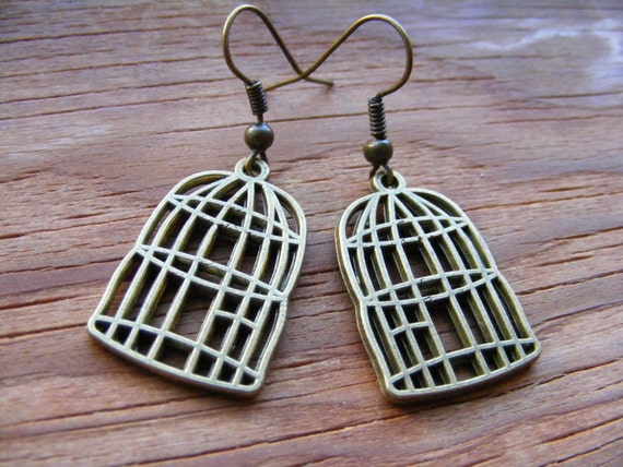 Don't Cage the Bird Earrings