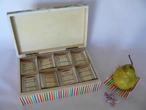 Коробки для чая в пакетиках своими руками