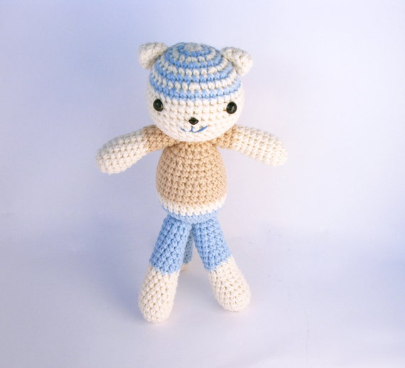 Crocheted Cat Juan