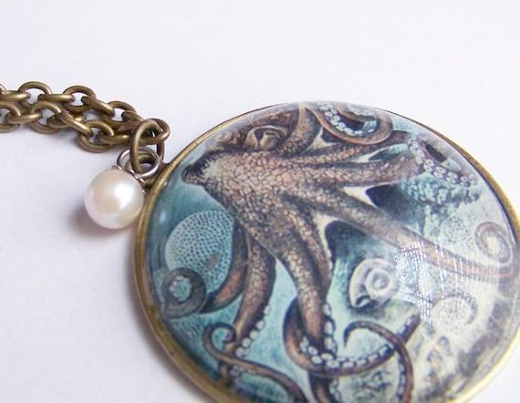 Kraken Underwater Necklace