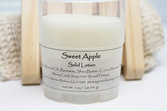 Sweet Apple Solid Lotion Stick