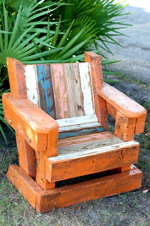 Reclaimed Beadboard Adirondack Chair Child Outdoor Furniture