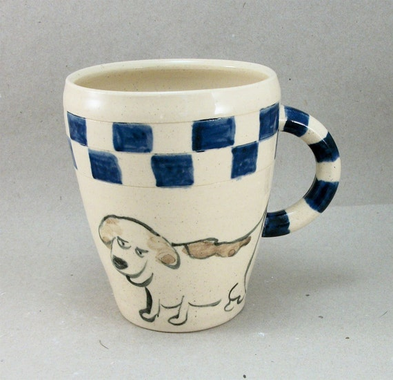dog and cat mug