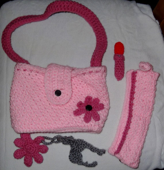 Handmade Toy Purse Set